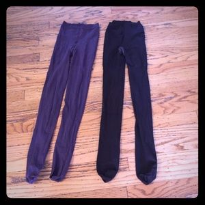 Two Pair of Size A SPANX Tights